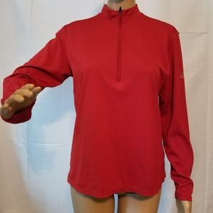Nike acg Red Dri Fit Base Layer Red jacket womens